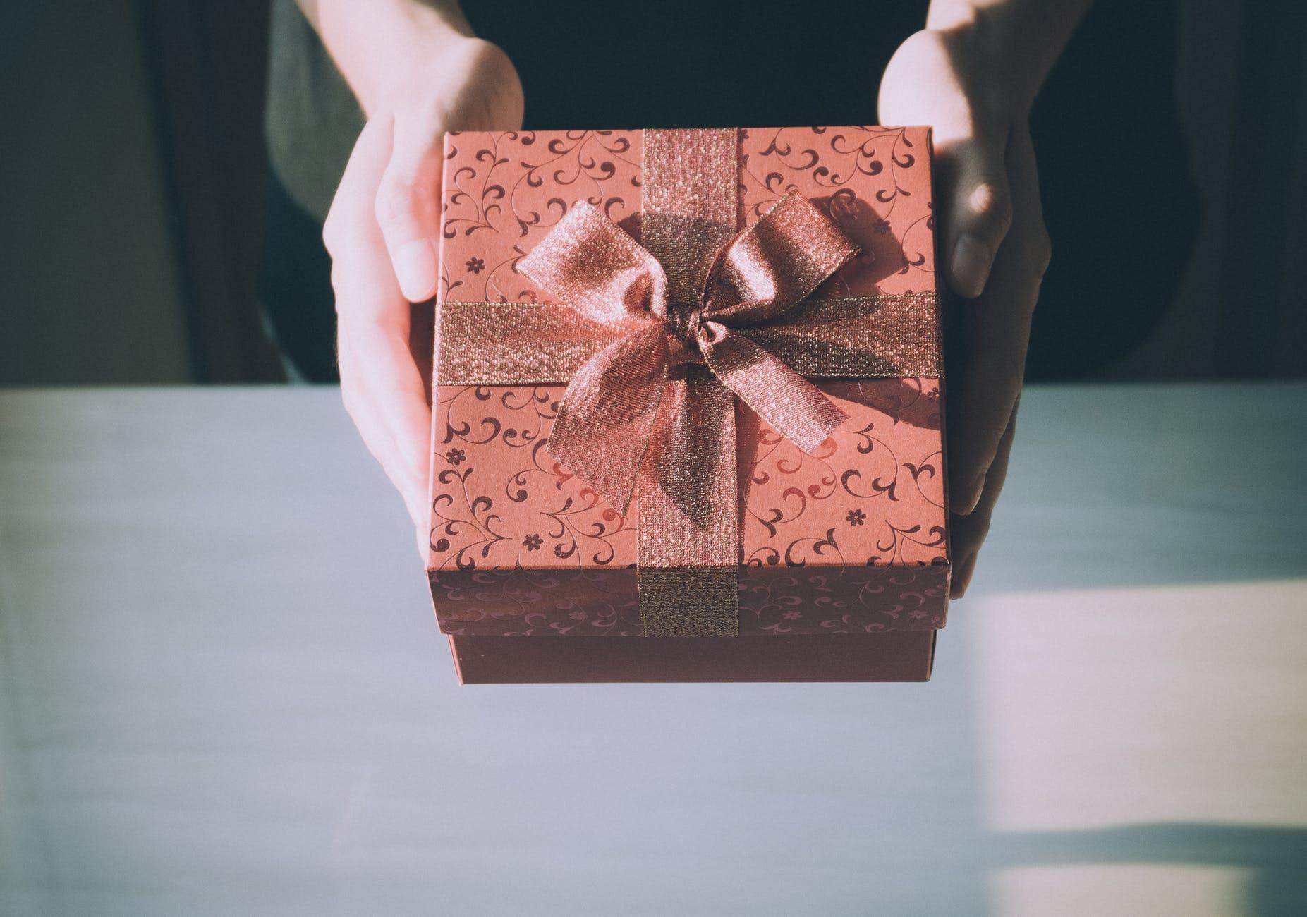 zabalený darček